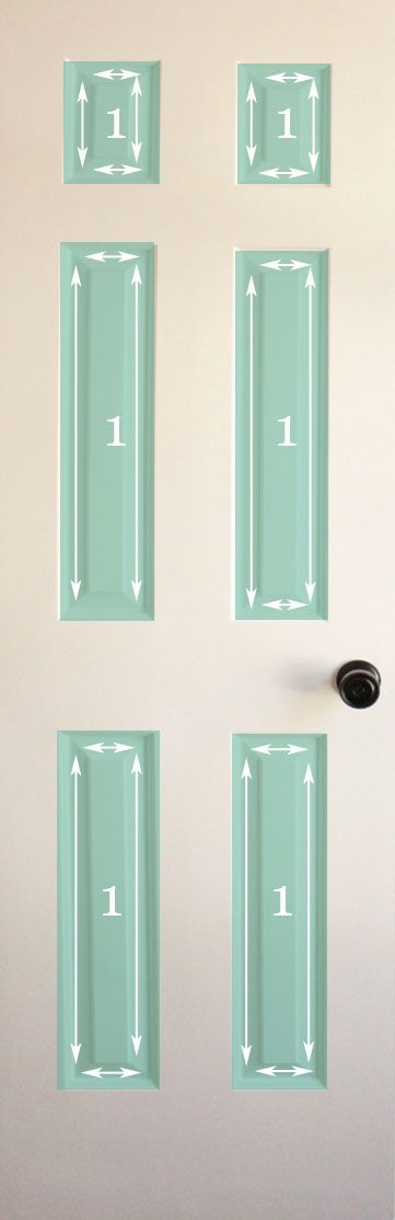 How to paint a door...so glad I found this I plan on re-painting all my interior doors this weekend! & How to Paint Doors (The Professional Way | Painted doors Interior ...