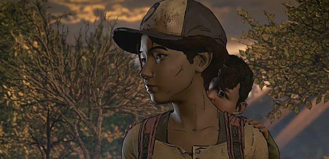 Clementine And Aj The Walking Dead Telltale Walking Dead Game The Walking Dead