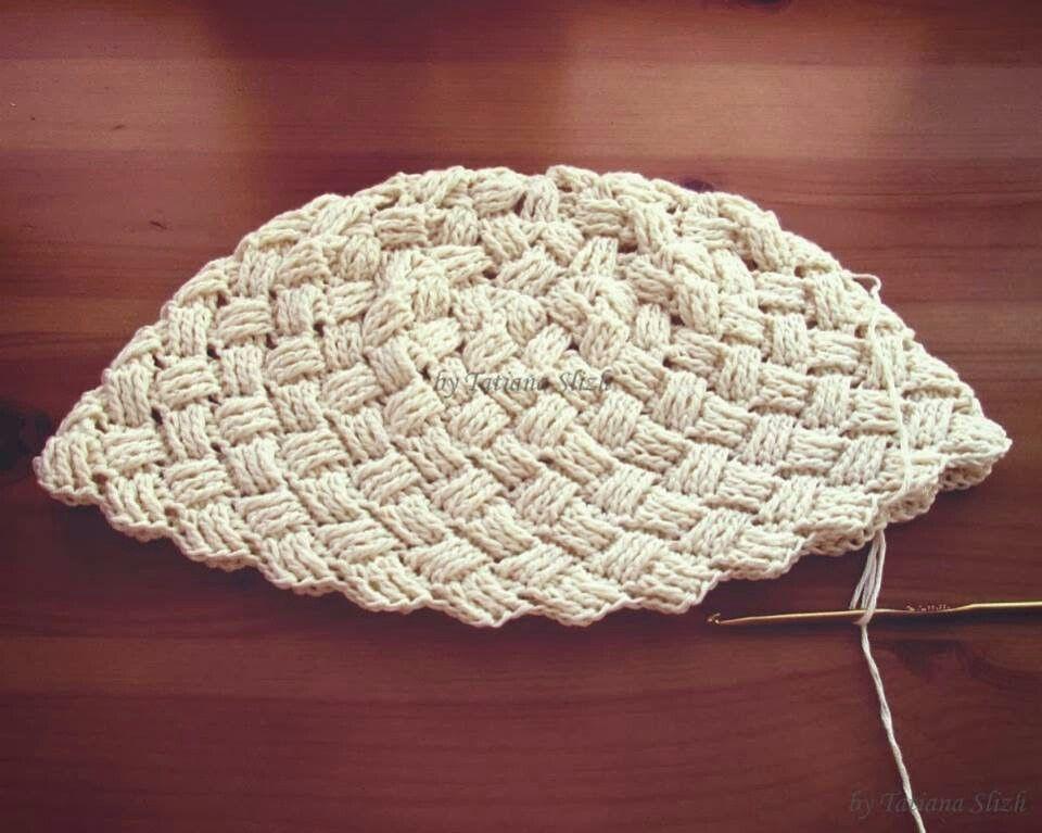 Pin de Damaris Lobo Innecken en sombrero | Pinterest | Croché ...