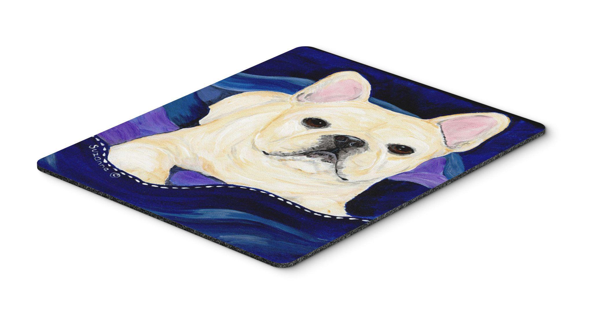 French Bulldog Mouse Pad / Hot Pad / Trivet