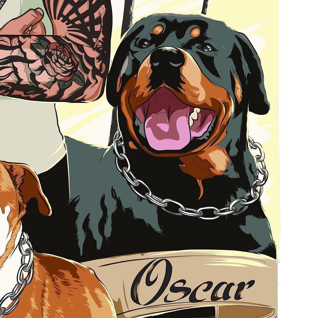 Detail Of New Illustration Rottweiler Gta Gta5 Illustration