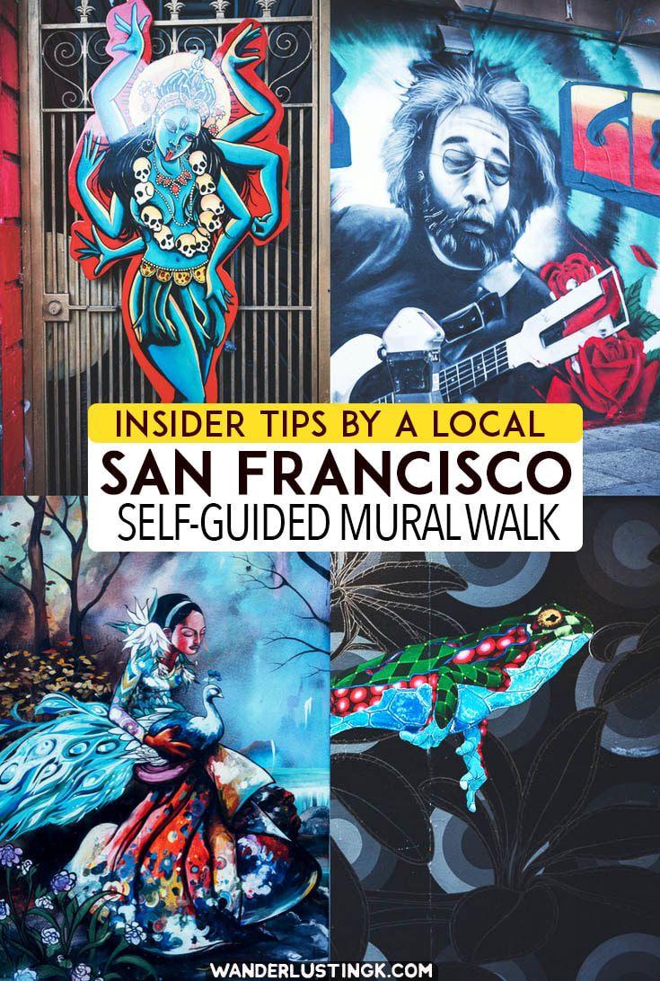 San Francisco Mural Walk A self guided walking
