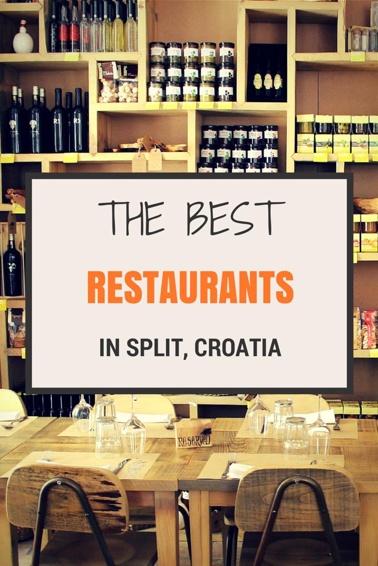 Foodie S Guide To The Best Split Restaurants Where To Eat In Split Croatia Split Croatia Croatia Croatia Holiday
