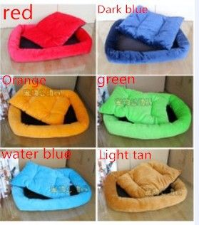Dog Bed Dog House Pet Bed Cat Bed New 2014 Pet Nest Kennel Cat Litter Pet Pad Multicolor Soft Pet Products1pcs/lot