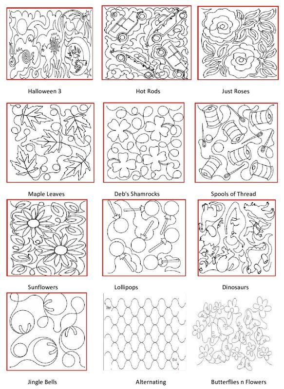 Pattern Book Free Motion Quilting Patterns Quilting Stitch Patterns Long Arm Quilting Patterns,Simple Landscape Design Drawings