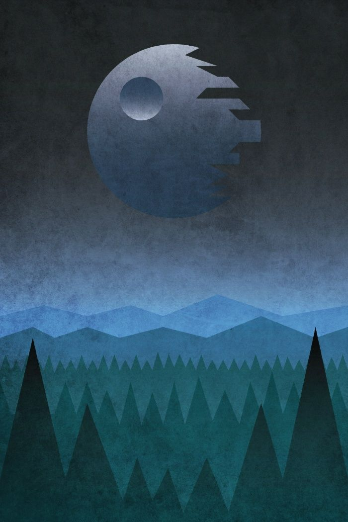Endor By Dennisthebadger Via Society6 Star Wars Background