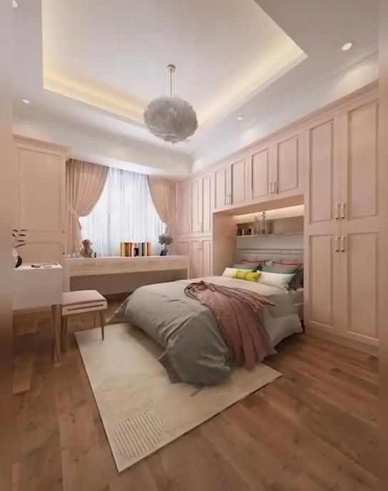 Photo of Sweet Bedroom Design for Teenage Girls