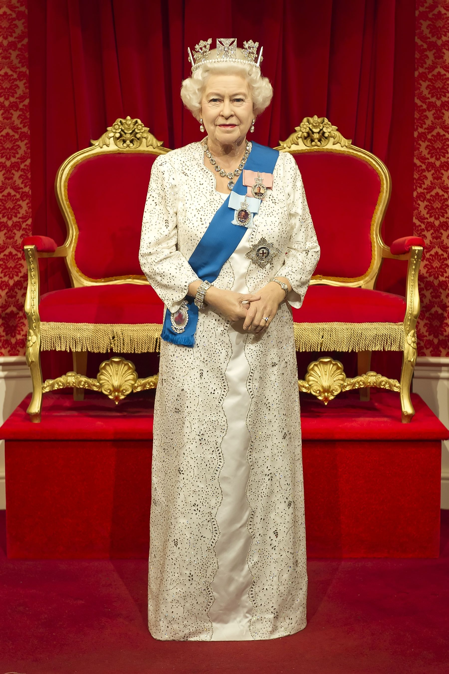 The Queen S Brand New Wax Figure At Madame Tussauds London Madame Tussauds Tussauds London Tussauds