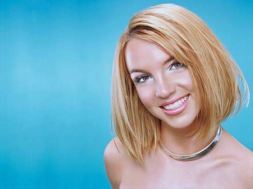 Britney Spears Bob Haircut Pictures 2016
