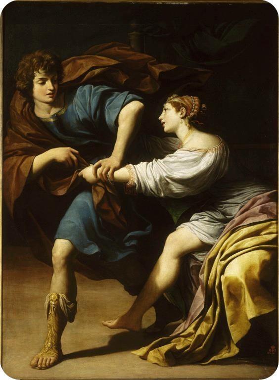 Joseph et la femme de Putiphar, de Lionello Spada