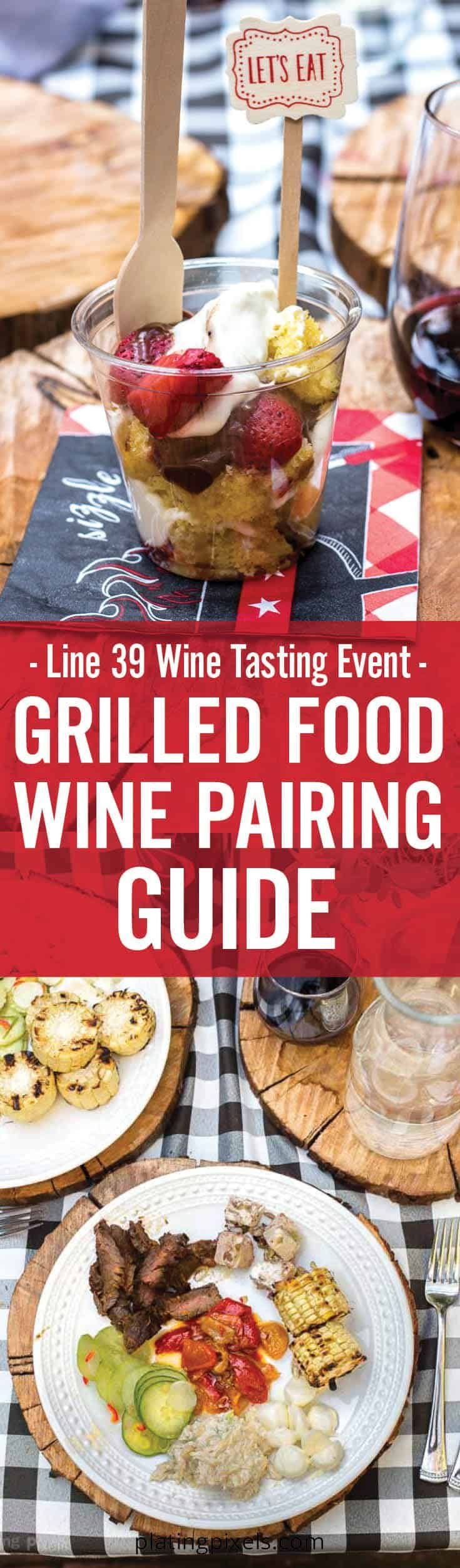 Line 39 Wine Tasting Event In San Francisco And Grilled Food Wine Pairing Wine Recipes Wine Food Pairing Food