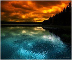 Blue Vs Orange Gorgoues Sky Photography Landscape Photography Nature Photographs