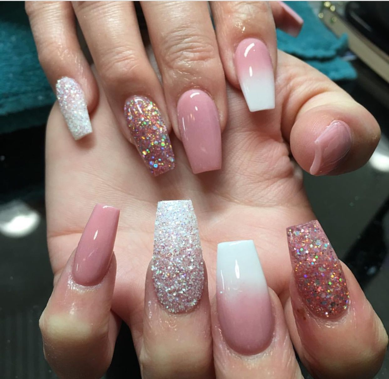 Pin By Karissa Mckinzie On That Nail Game Tho Pink Acrylic Nails Cute Acrylic Nails Pink Nails