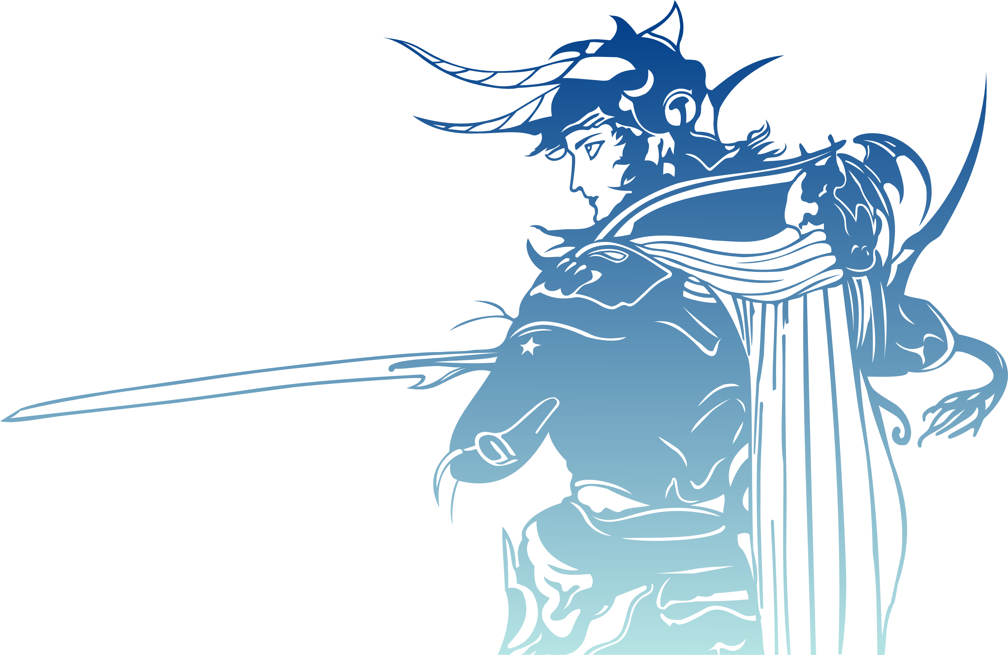 Final Fantasy 1 Logo without words for details