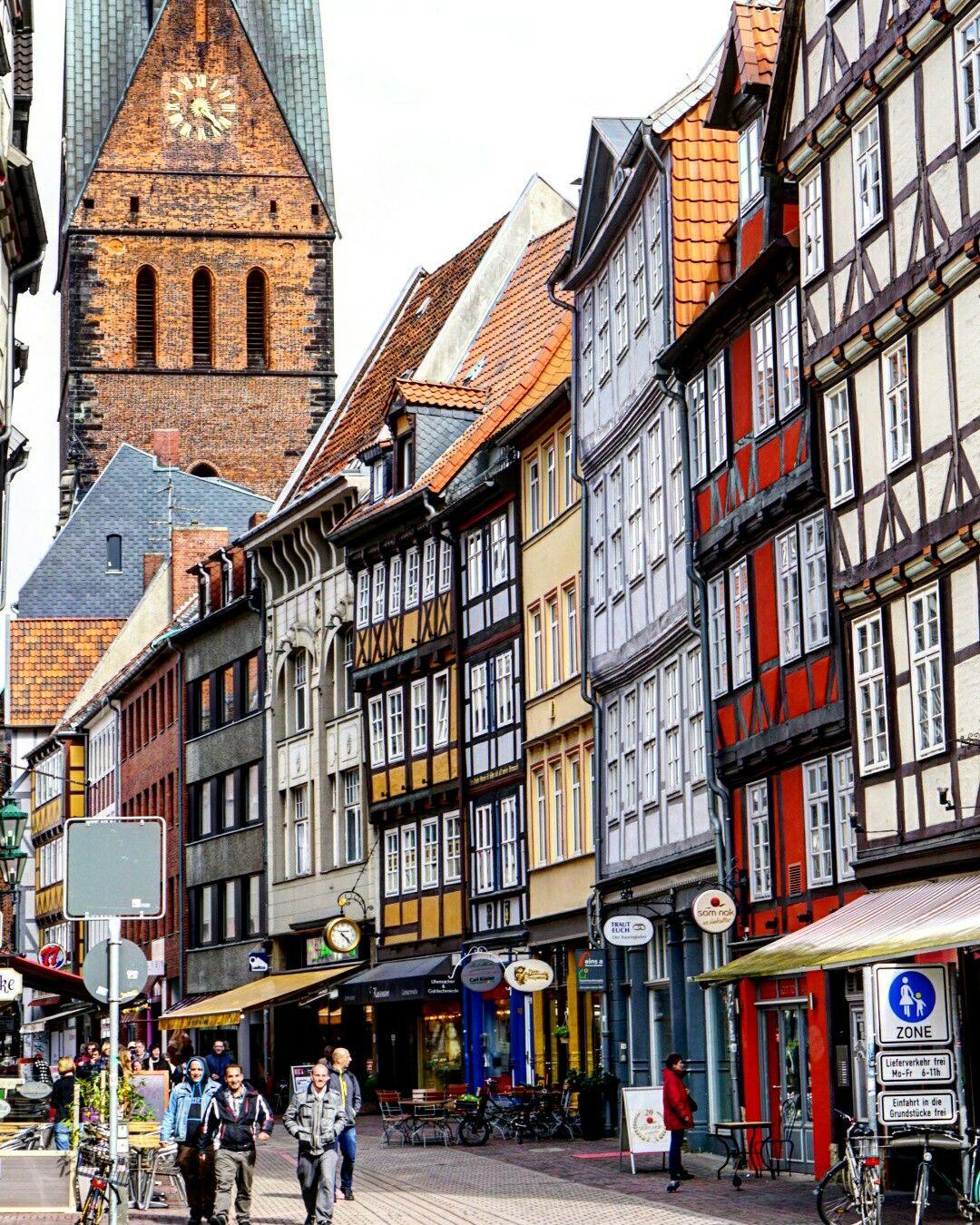 Altstadt mit Marktkirche Architektur in Hannover