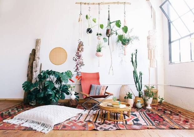 Macrame is just  really fancy looking technique using knots and string or cord it was popular in interiors the   we re happy to see its also global decor ideas for home new bedroom pinterest rh