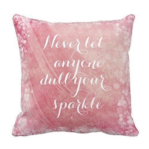 Pink Shiny Light and Motivational Quote Pillow Square Decorative Throw Pillow Cover Case Zippered Two Sides 18 x 18 inches Poppy-Love http://www.amazon.com/dp/B014MI9T0M/ref=cm_sw_r_pi_dp_oIn2wb1JCJXAY