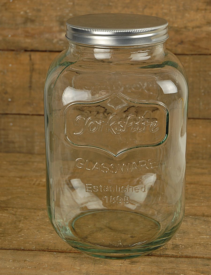 Gallon Yorkshire Glassware Jar Home Mason Jars