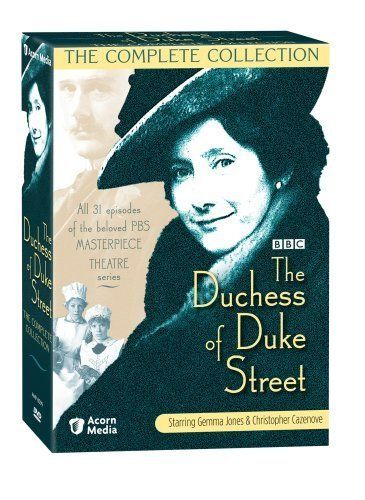 The Duchess of Duke Street (1976– ). What a fantastic TV series from the 70's! This BBC production is excellent and the series has great acting, script and very interesting characters! Love it!
