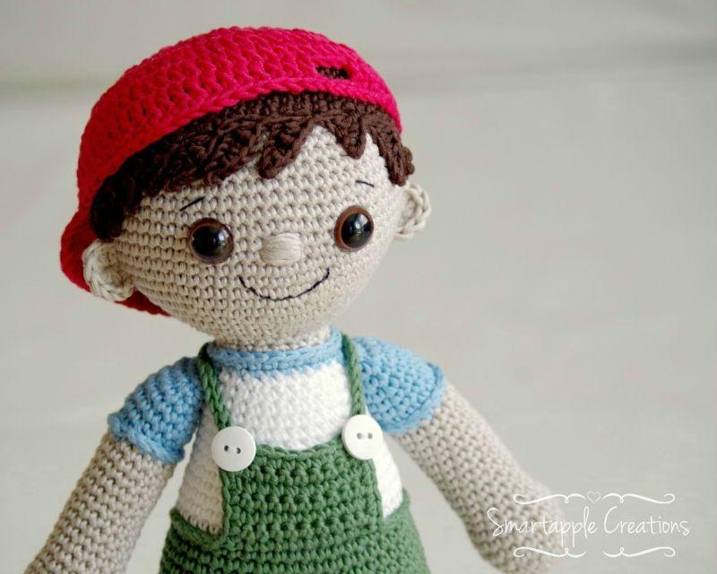 Tobias Boy Doll Amigurumi Pattern   amiguruini en 2018   Pinterest ...