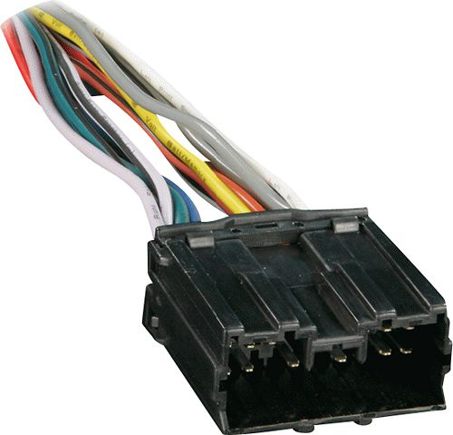 Metra Wiring Harness For Select Mitsubishi And Dodge Vehicles Black 70 7001 Best Buy In 2020 Car Harness Dodge Vehicles Mitsubishi Cars