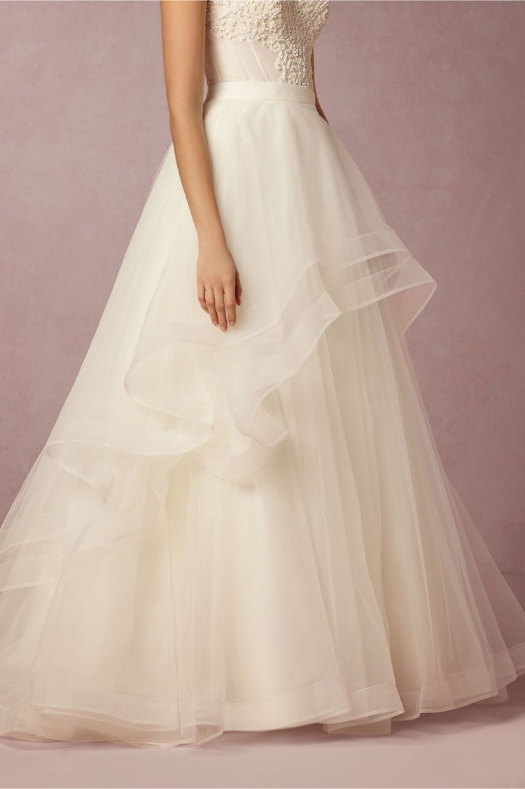Design your own wedding dress near me  Bridal Separates from BHLDN  Bridal separates Wedding dress and