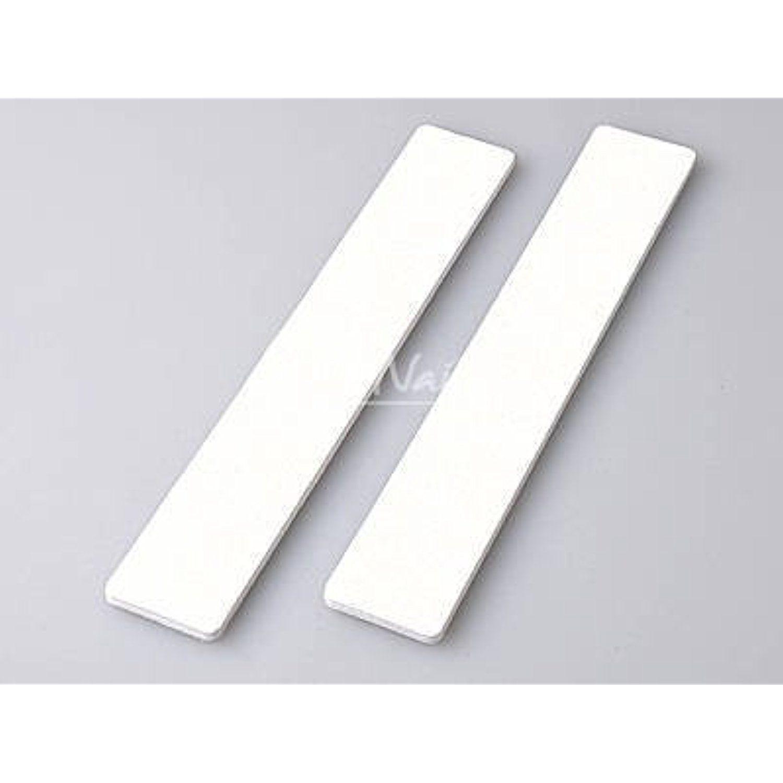 Jumbo Professional Nail File Square White 80/80 50 Nail Files Size 7 ...