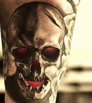Skulls Beeindruckende Totenschadel Part01 Tattoo Tatoos And Tatoo