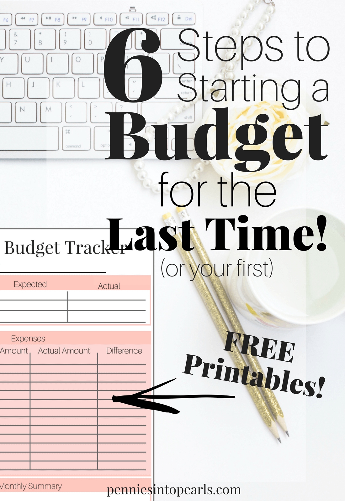 How To Start A Budget For The First And Last Time