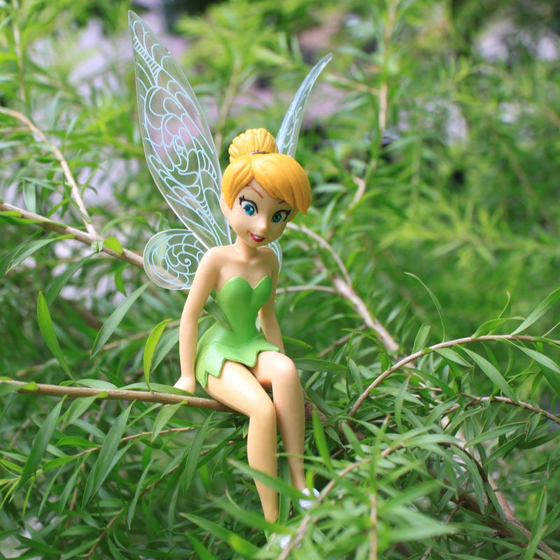 Free Shipping High Quality Pvc 6pcs Set Tinkerbell Fairy Adorable Tinker Bell Figures Retail Free Shipping Whole Tinkerbell Fairies Tinkerbell Picture Logo