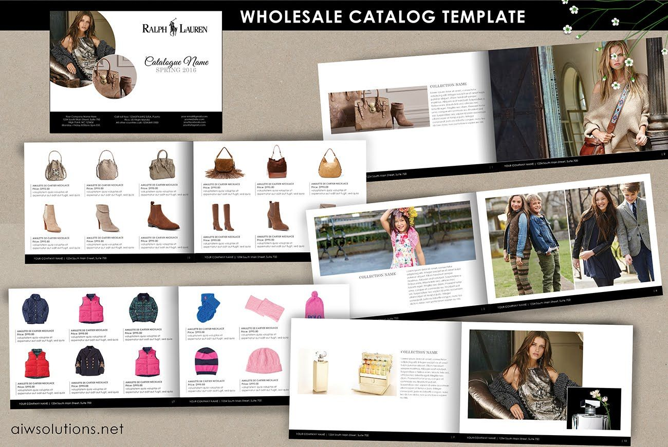 How to create a product catalog for your business using indesign ...