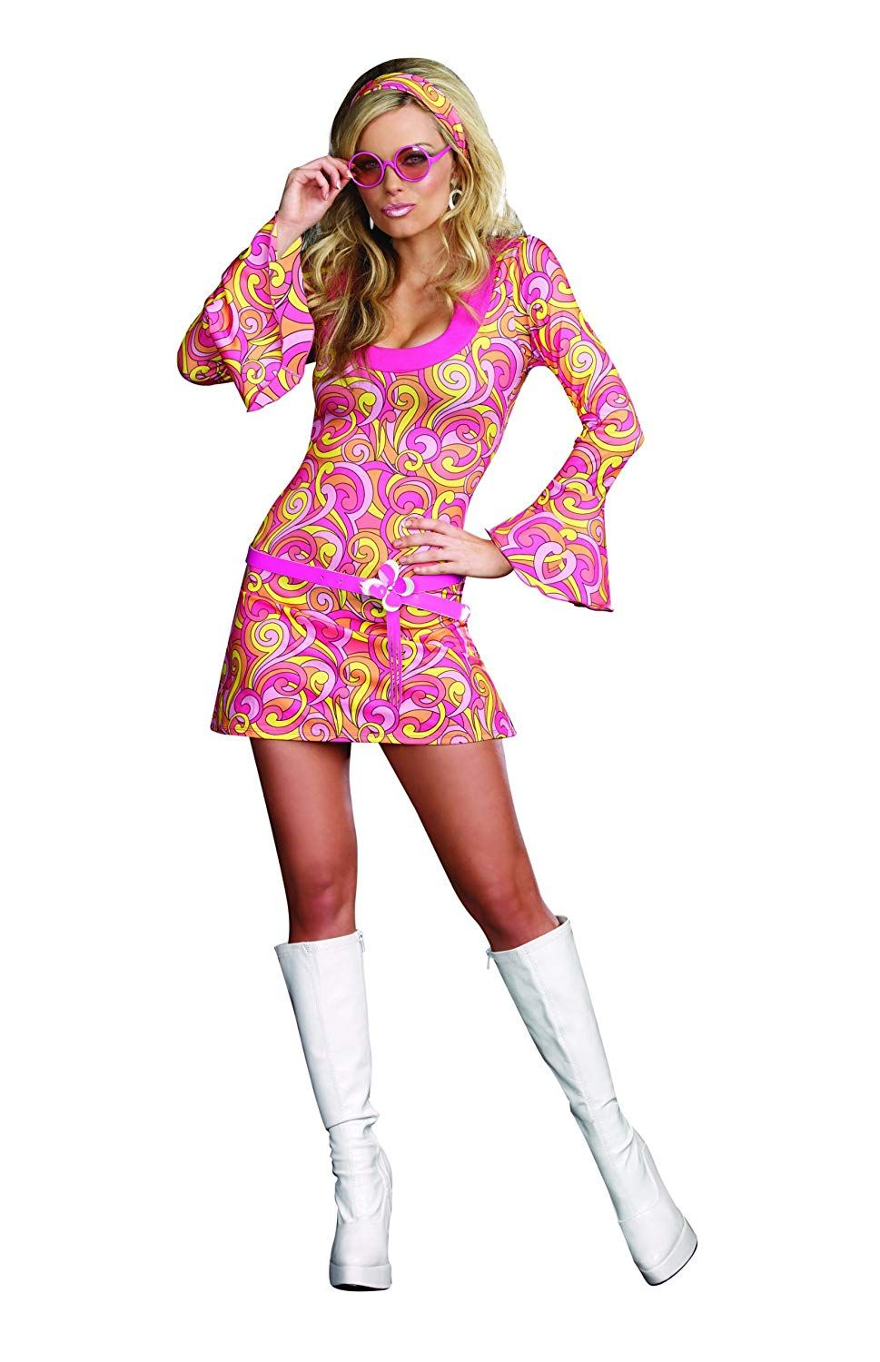 Hippie Costume Halloween Fancy Dress