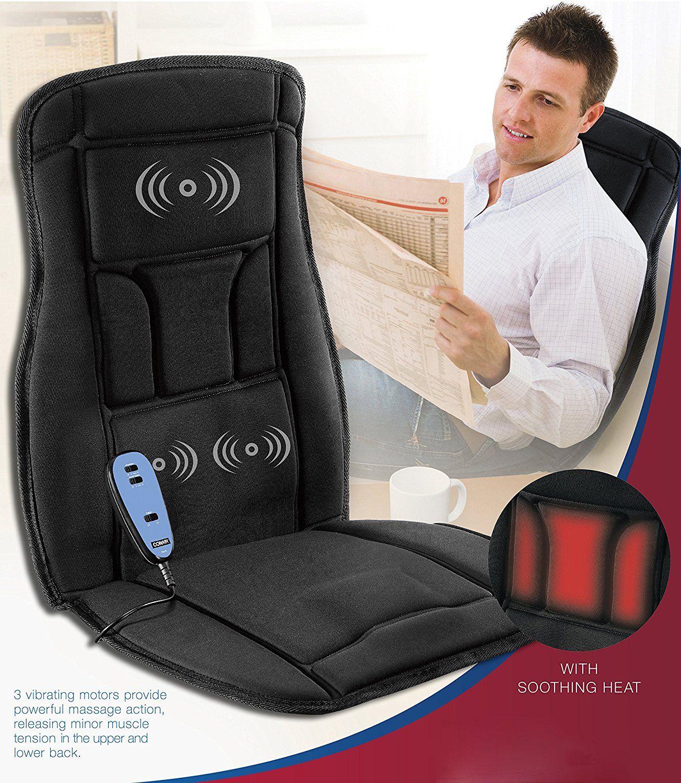 Conair Body Benefits Heated Massaging Seat Cushion Massage Chair