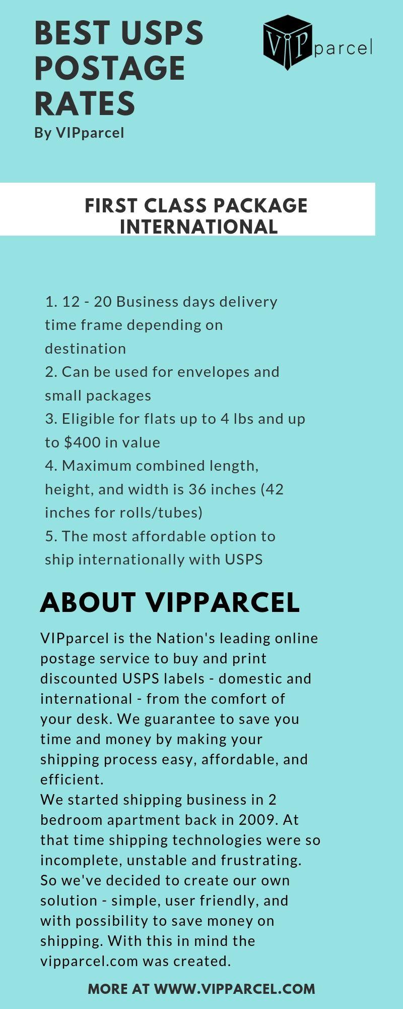 Best USPS Postage Rates - VIPparcel   Best USPS Postage