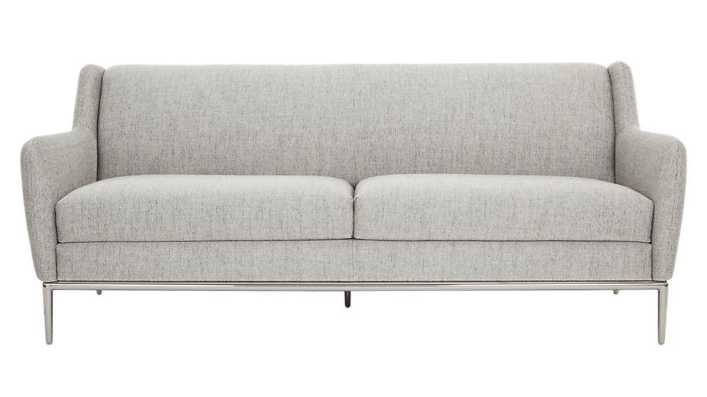 Alfred Stone Grey Sofa Reviews Gray Sofa Sofa Small Living