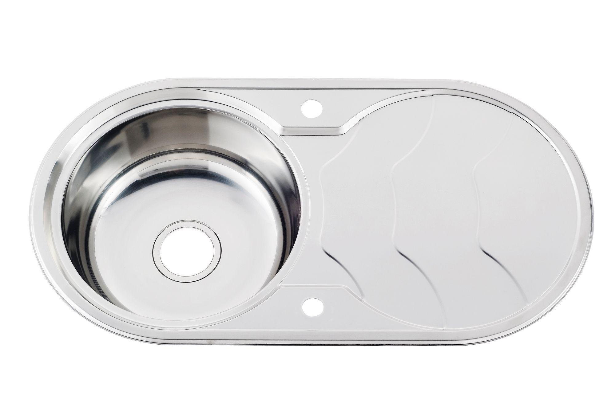 Morgan Morgan 1 Bowl Stainless Steel Sink & Drainer | Departments | DIY at B&Q