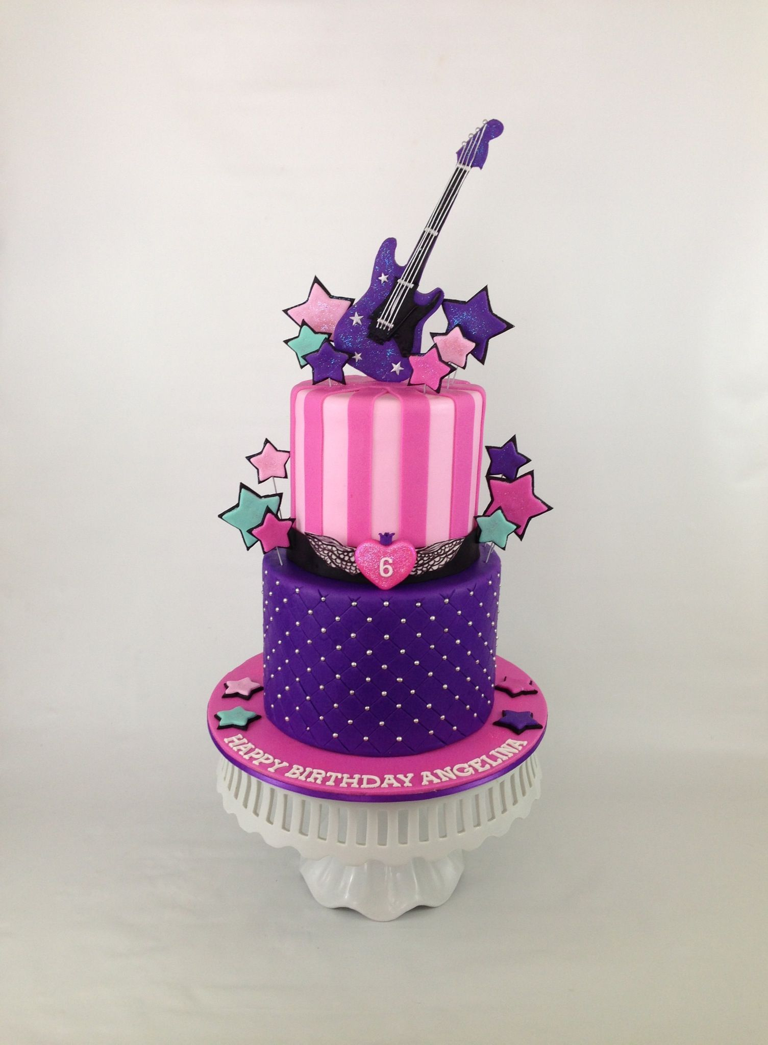 Rock Star Birthday Cake By There Should Always Be Cake Cumple 8 La