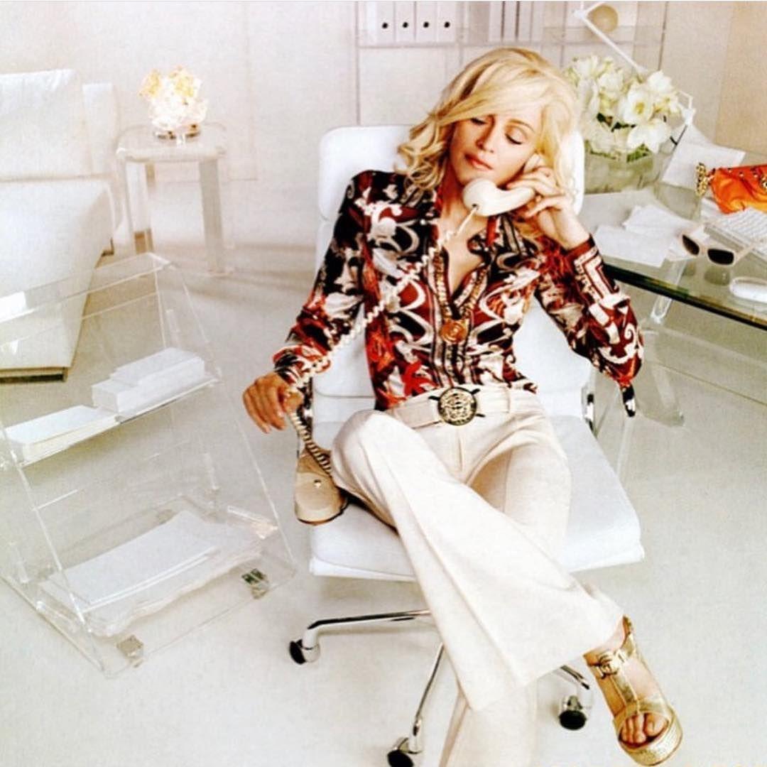 Madonna on instagram uchi donatellayaaaaaaaas gurl i