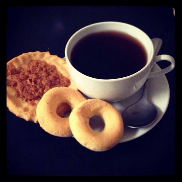 Café, rosquillas y tustacas