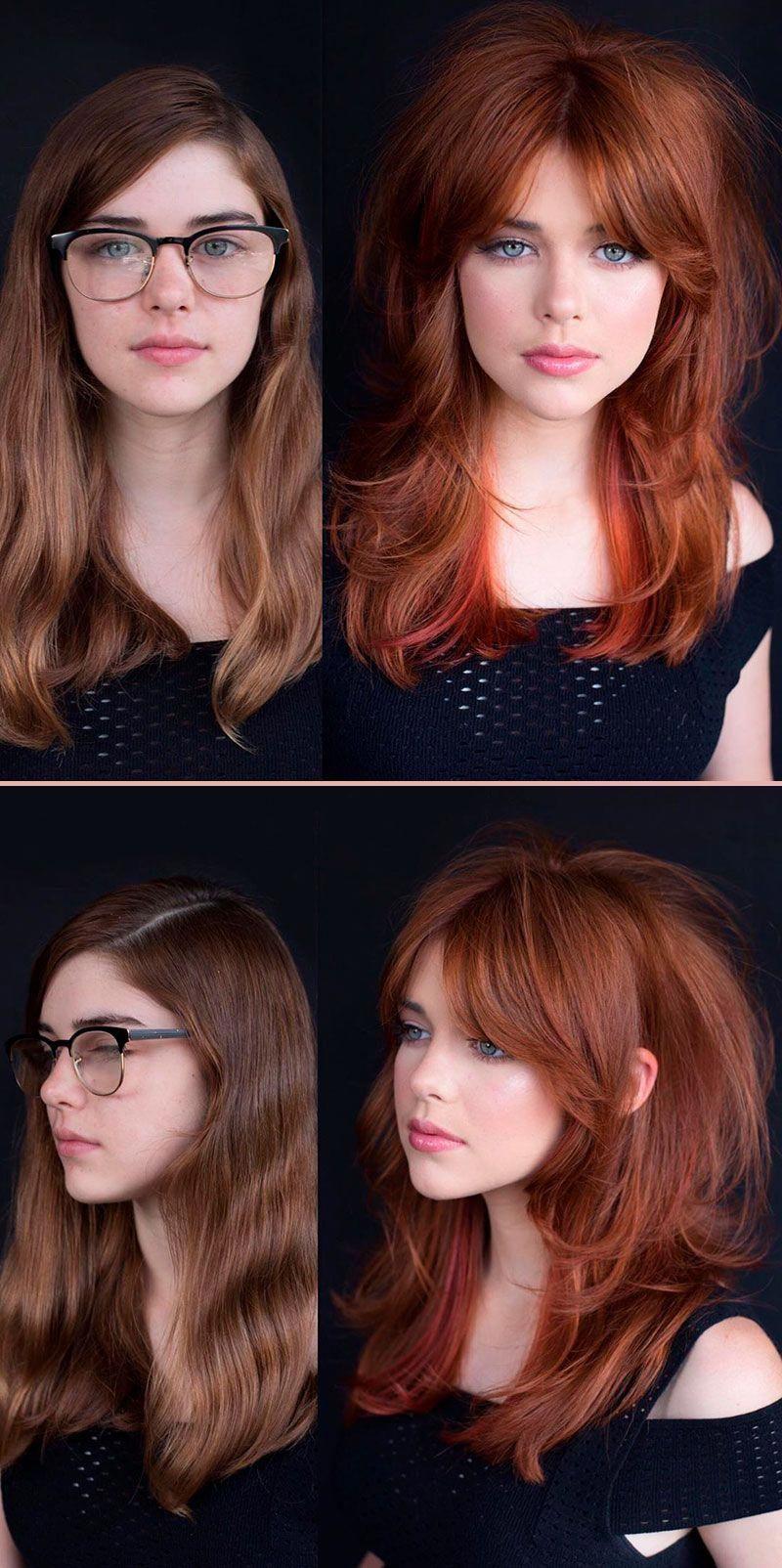 Such A Cute Long Shag Hairstyle Haircutsforlongcurly Long Shag Hairstyles Long Hair Styles Curly Hair Styles