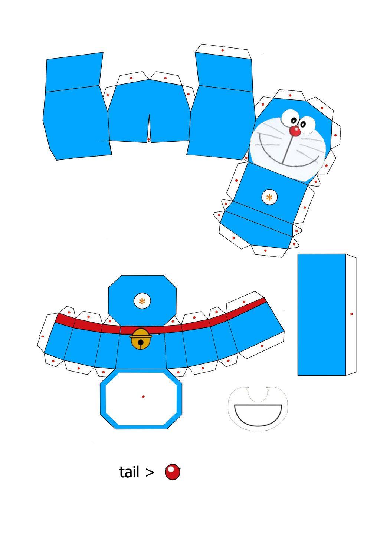 1 Of 2 Https Jackobonnie1983 Deviantart Com Art Doraemon Papercraft Part1 652843330 Paper Crafts Doraemon Paper Toys