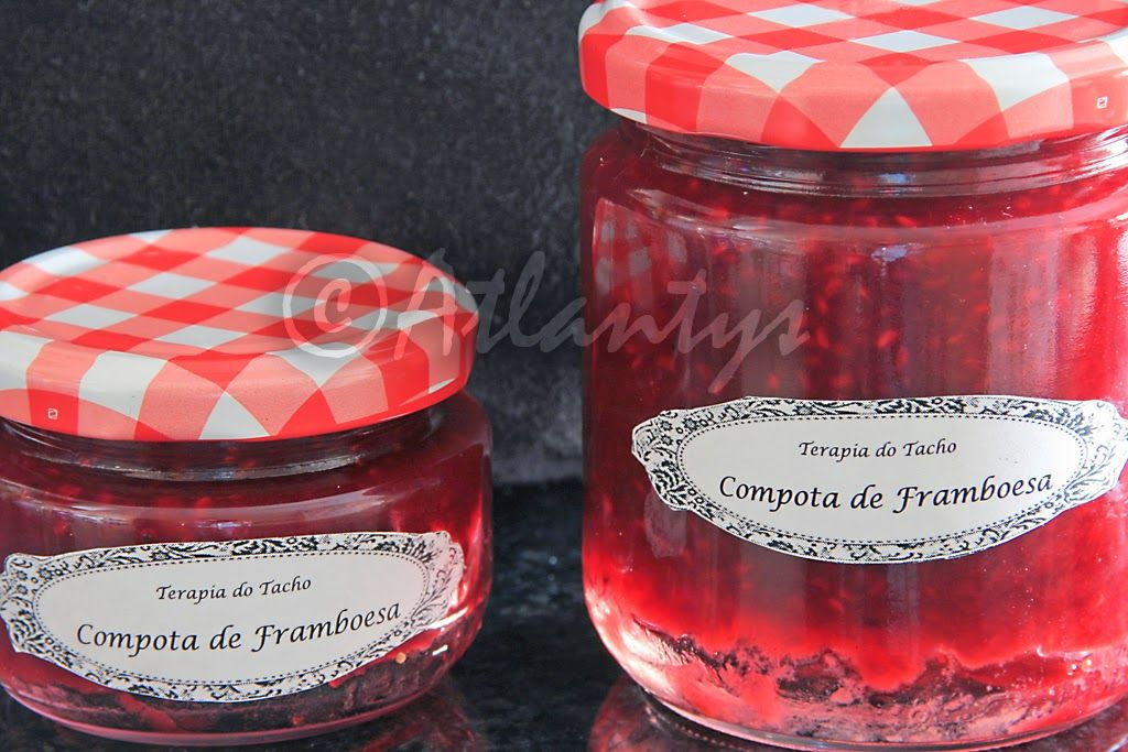 Terapia do Tacho: Compota de framboesa sem açúcar (Sugarless raspeberry jam)