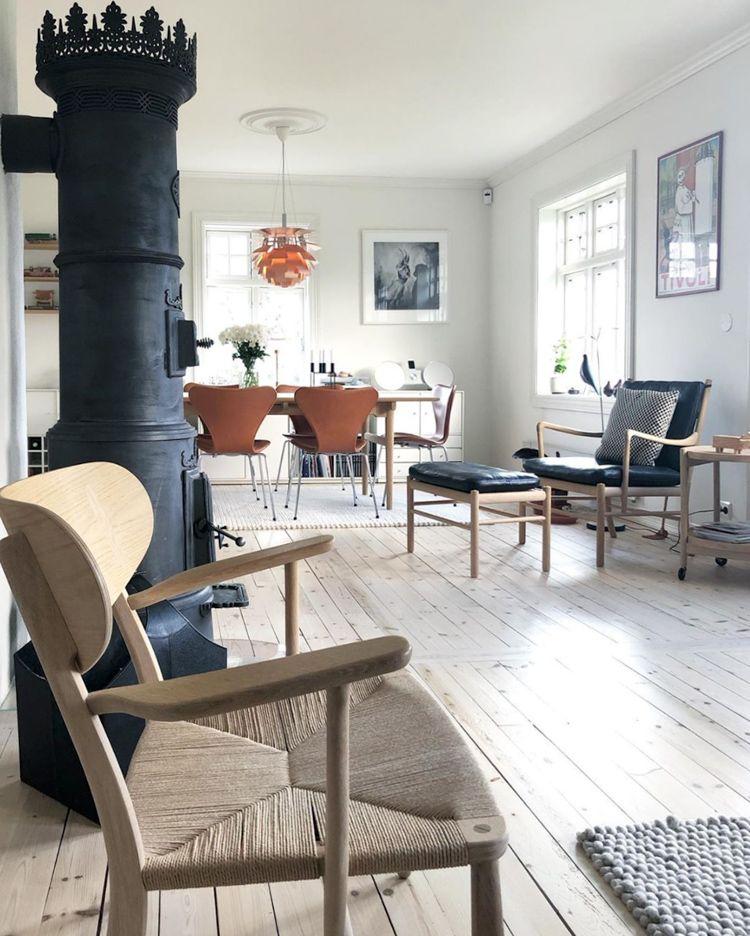 My Scandinavian Home The Inspiring Norwegian Home Of A Danish Design Hunter In 2020 Norwegian House Danish Design Danish Furniture Design