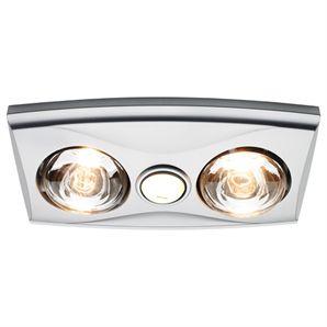 Bunnings heat light httpbunningsheller 3 in 1 silver heller 3 in 1 silver bathroom heater with duct aloadofball Images