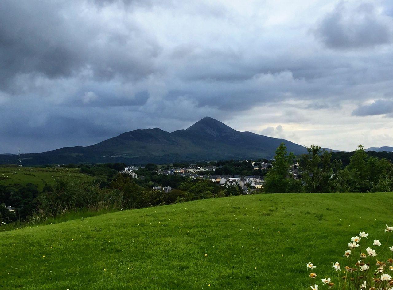 Croagh Patrick, Westport, Co. Mayo, taken from theemeraldisle's blog