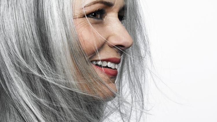 Ditching dye How to go gray, gracefully Cheveux gris