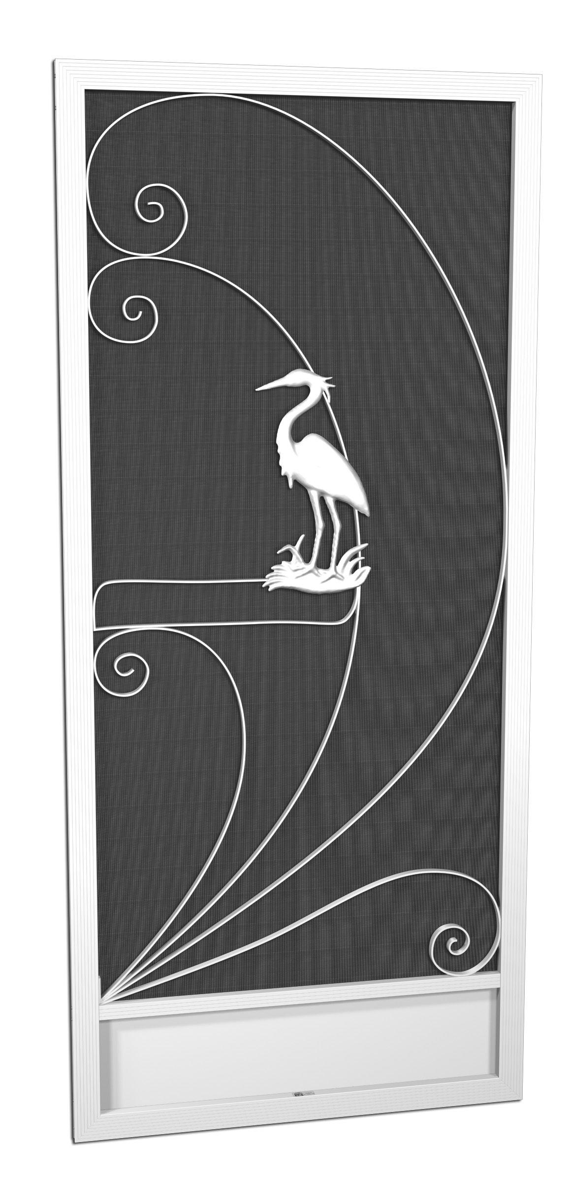 Handcrafted Custom Aluminum Screen Door Company In The By Pca