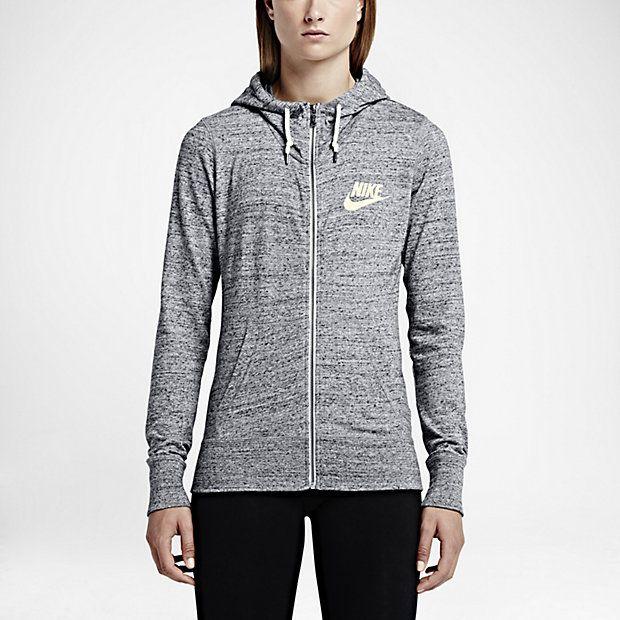 a8ac5b370416 Nike Gym Vintage Full-Zip Women s Hoodie