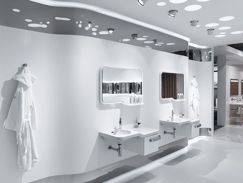 technology the focus in bathroom design by noken porcelanosa bathrooms - Noken Porcelanosa