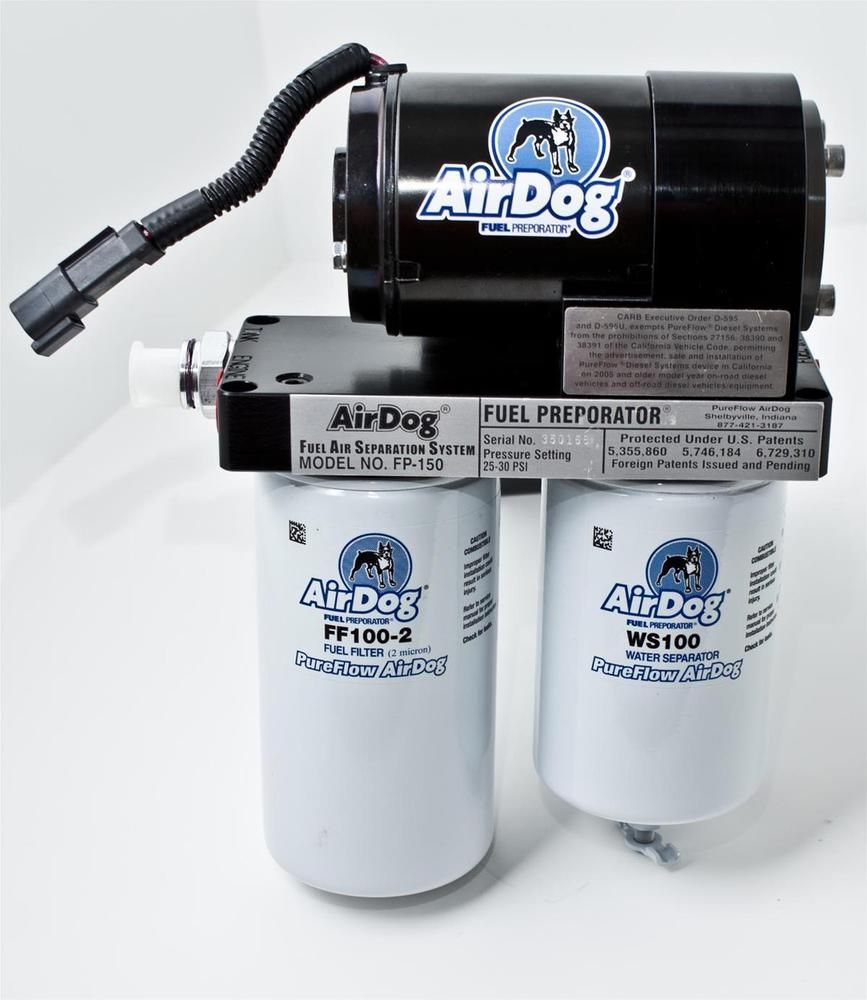 Pureflow Airdog Fuel Air Separation System W Out In Tank Pump Diesel Filter Systems Dodge 59l Ebay Link